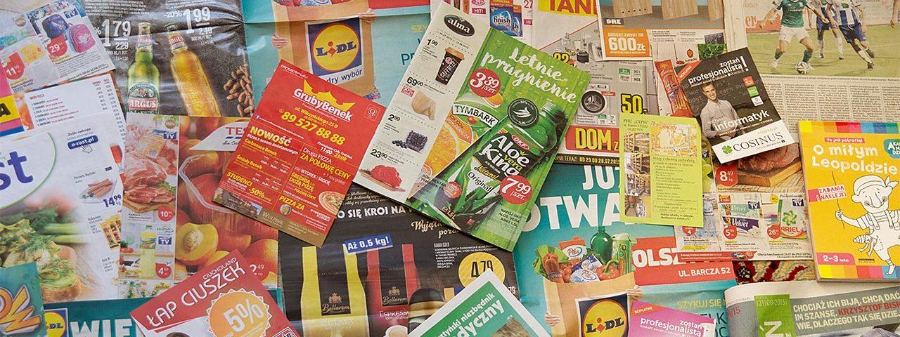 kolportaż materiałów reklamowych